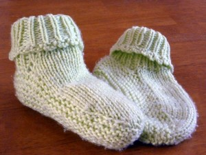 Picot Edge Slippers